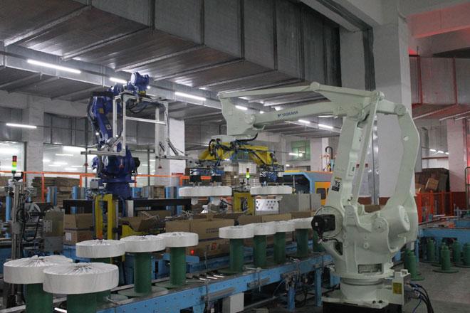 Thay thế máy giúp Baihong nâng cấp Sản xuất thông minh