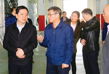 Quanzhou Municipal Committee and Secretary General Weng Zugen Research Baihong E District Project