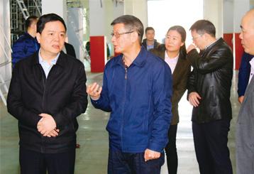 Ủy ban thành phố Tuyền Châu và Tổng thư ký Weng Zugen Nghiên cứu Dự án quận Baihong E